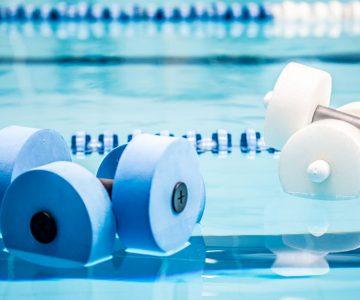 Renkama aqua aerobikos grupė. Sporto klubas OAZIS Šilutė