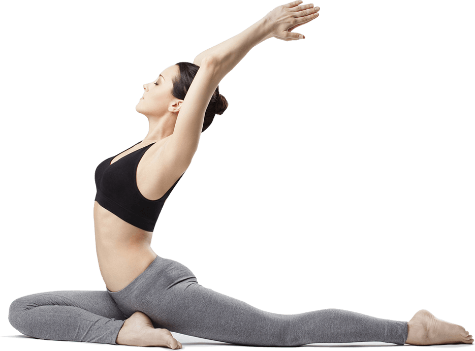 Sporto klubas OAZIS Šilutė. Tempimo pratimai. Power yoga. Kalanetika